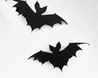 Bat Hair Clips
