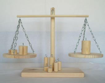 Wood Scales, Balance toy