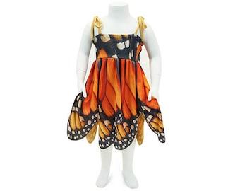 Girl's Monarch Butterfly Dress