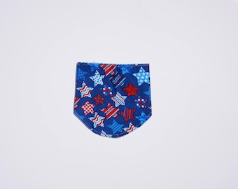 Patriotic Stars Rounded Bottom