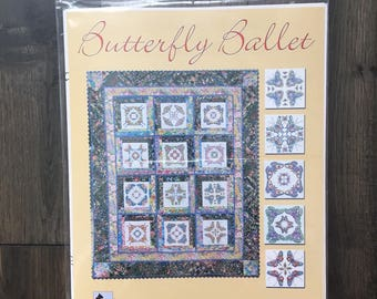 Quilt Pattern - Butterfly Ballet by Judy Reynolds (new in original package)