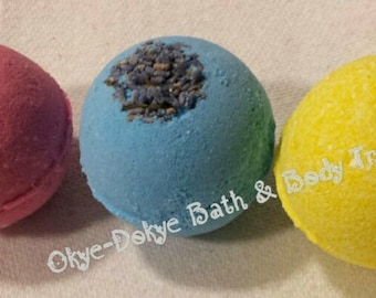 Bath bombs 3pack made with essential oils