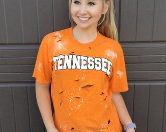 Tennessee Vols Distressed Shirt
