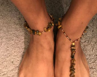 Blissful Wood Barefoot Sandal
