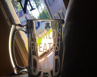 Etched Beer Mugs