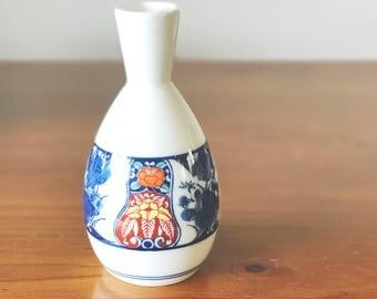 Small Vintage handpainted vase