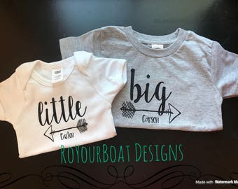 Little/Big Sibling Shirts