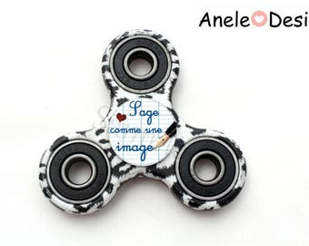 Spinner Hand Spinner wise child as a picture - Leopard
