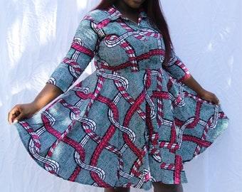 Ankara dress size 18