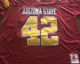 Pat Tillman Arizona State Sun Devils mens XL Extra Large jersey new with tags Rose Bowl RARE