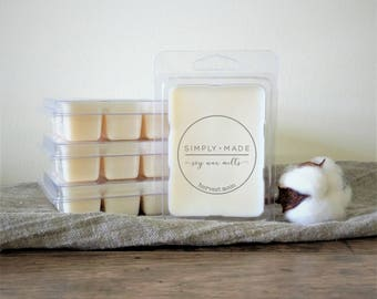 Harvest Moon Soy Wax Melts, Scented Wax Melts, Soy Wax Tarts, Soy Melts, Clamshell Melts, Candle Melts