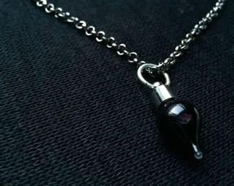 Purple vial NECKLACE.