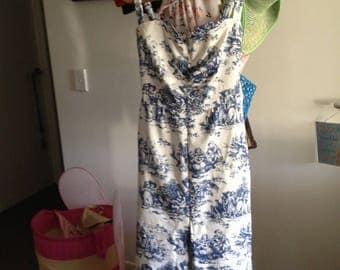 Wedgwood wiggle dress