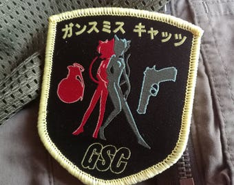 Gunsmith Cats - Bulletproof manga anime morale patch for Airsoft & MilSim