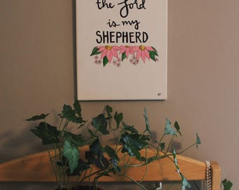 Shepherd Canvas Painting