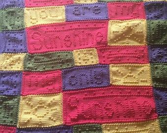 you are my sunshine blanket, crochet sunshine blanket, baby blanket, sunshine blanket