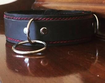 Custom Handmade Leather Collar