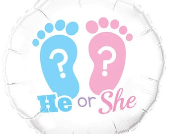 balloon boy, girl, he or she, baby shower, birth, welcome, welcome, decorating party
