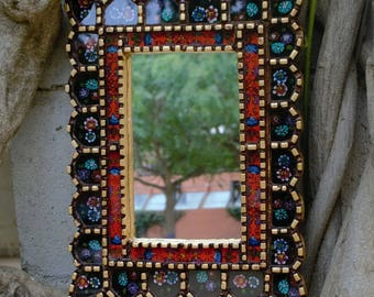 Handmade decorative mirror