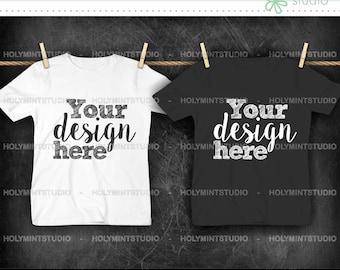 T- Shirt Mockup, Shirt , Mockup, White Shirt, T-Shirt , Children T-Shirt Mockup, Styled Photo, T-Shirt Mock Up