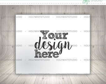 Stock Photos, Paper Page Mockup, Mockup, Styled Photo, Invitation Mockup, Card Mockup, Background, Pre Made Scene, Wood Background, Mock Up