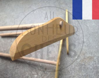 "French handmade crepe tool : ""Rouable à crêpes"" Artisan handcrafted"