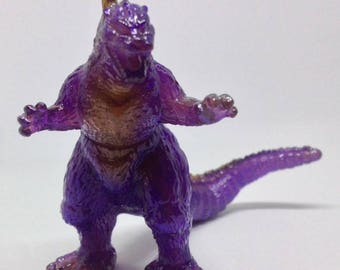 Custom painted small Bandai Godzilla figure