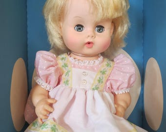 """Vague 16"""" Ginny Baby Doll, Made in USA 1977"""