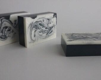 Detoxifying Charcoal Peppermint Soap