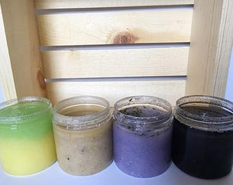 Hand, Body, and Face Organic Sugar Scrubs