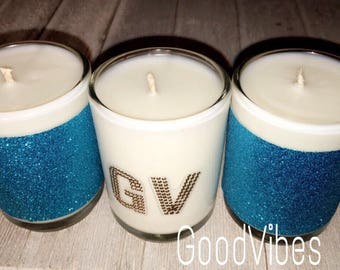Glitter Scented Candles