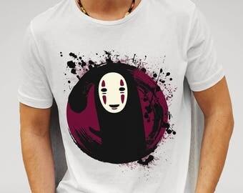Mens Spirited Away No Face - White T-shirt