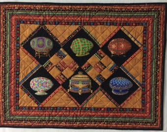 Quilted wall hanging/wall art/wall quilt