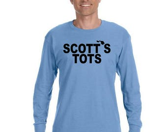 The Office TV Show, Scott's Tots Long Sleeve Tshirt