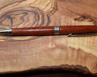 Leopardwood handmade pen