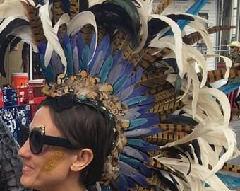 Custom Feather Mohawks
