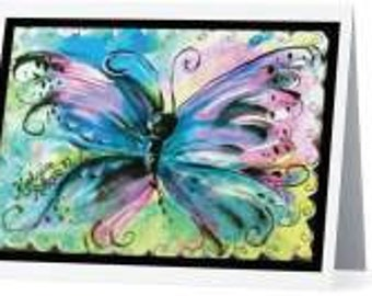 Original Greeting Note Cards Copyright Art by Katherine Roberts Marlow