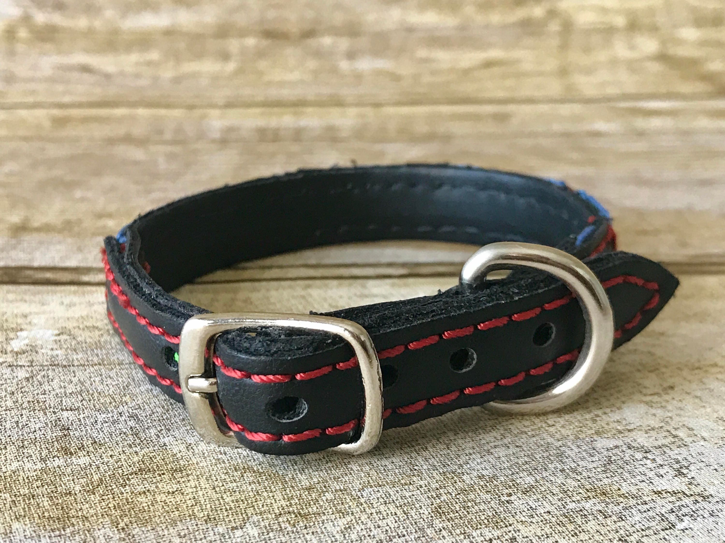 Mexican Dog Collar Leather