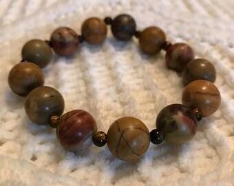 Neutral Beaded Custom Bracelet
