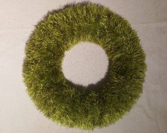 Wreath Evergreen, knitted