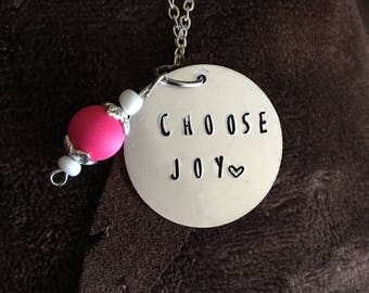 Custom Circle Necklace