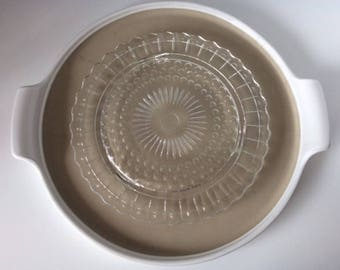Sunflower Glass Round Stand | USA