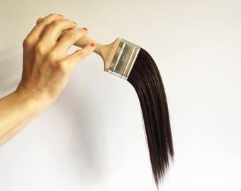Hair Affairs [Brush Sculpture]