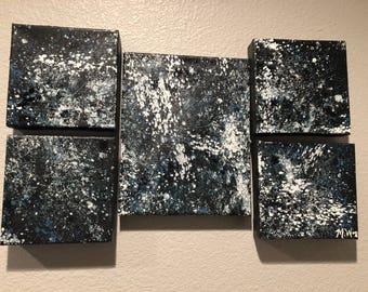 Abstract splatter