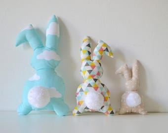 Cushions bunnies children's room decoration / baby