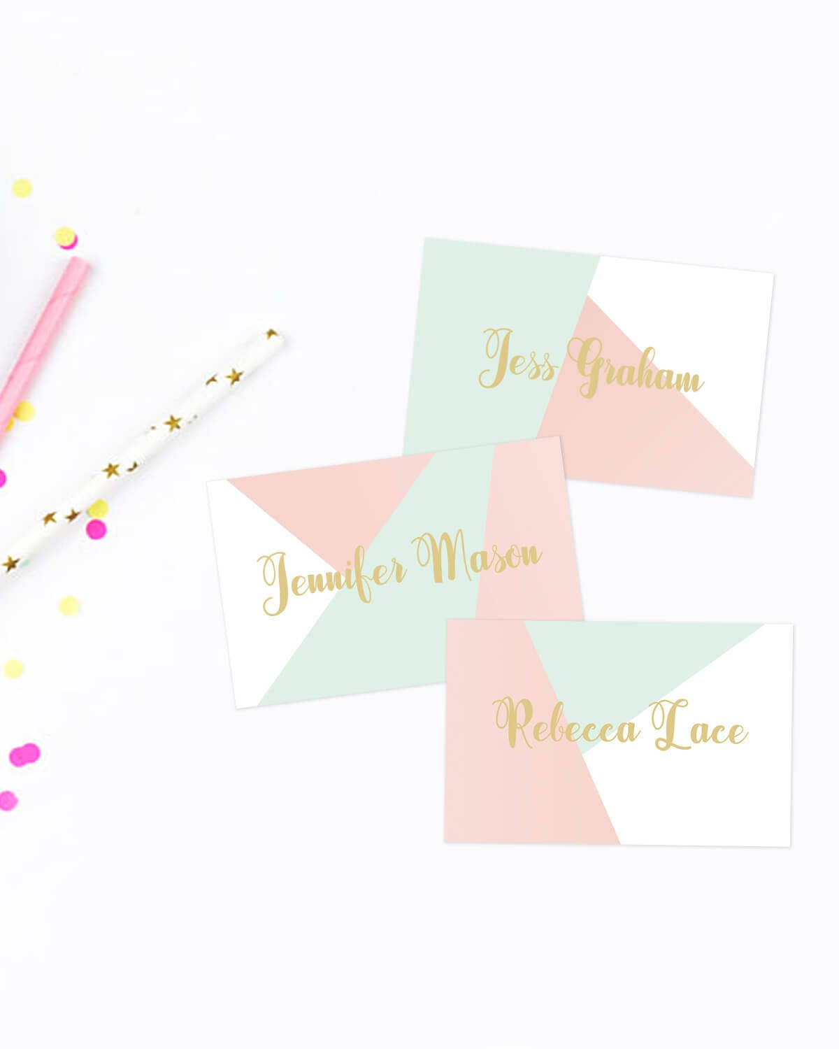 Printable Baby Shower Place Cards Baby Shower Name Tags Editable Place  Cards Baby Name Cards Tented