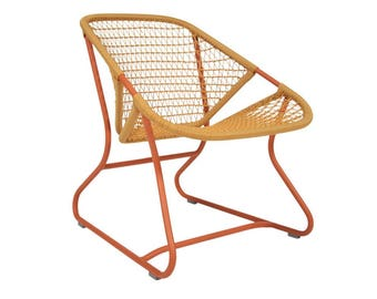Retro sixties Fermob lounge chair