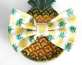 Pineapple Dog / Cat Bow tie