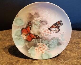 Bradford Exchange Lena Liu Gossamer Wings Collector Butterfly Plate