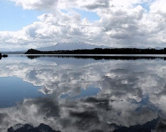 Reflection in Water colors
